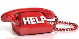 National helpline numbers