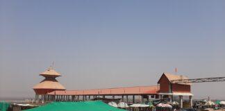 स्तंभेश्वर महादेव, कावी कंबोई, विश्वनंदक स्तंभ